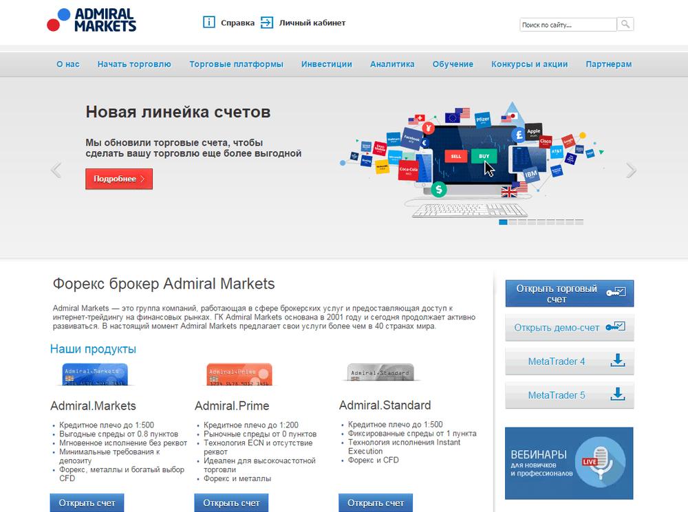 Admiral Markets отзывы