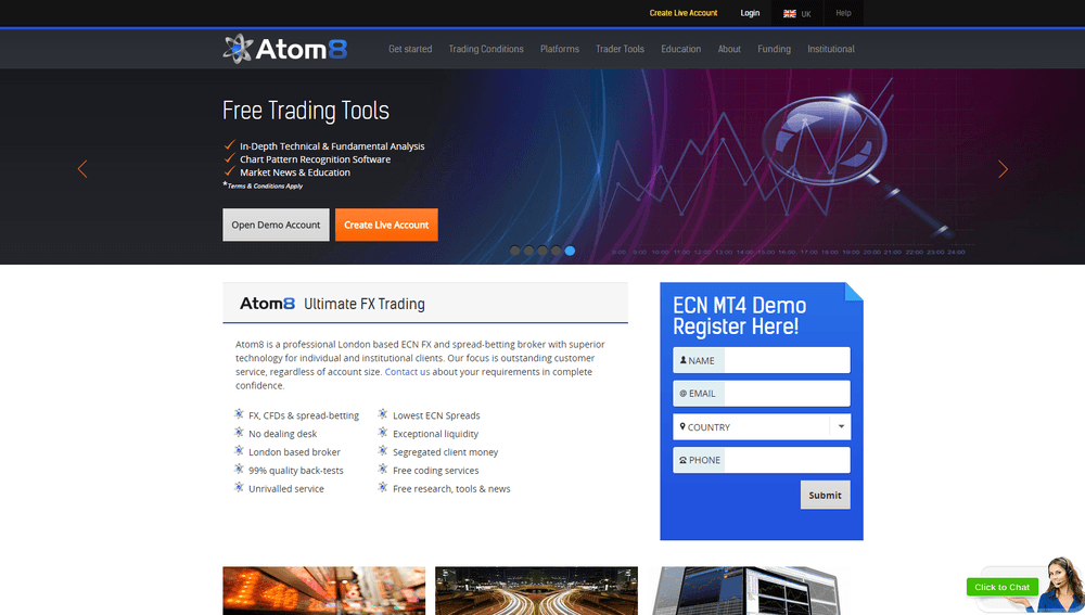 Atom8 forex review