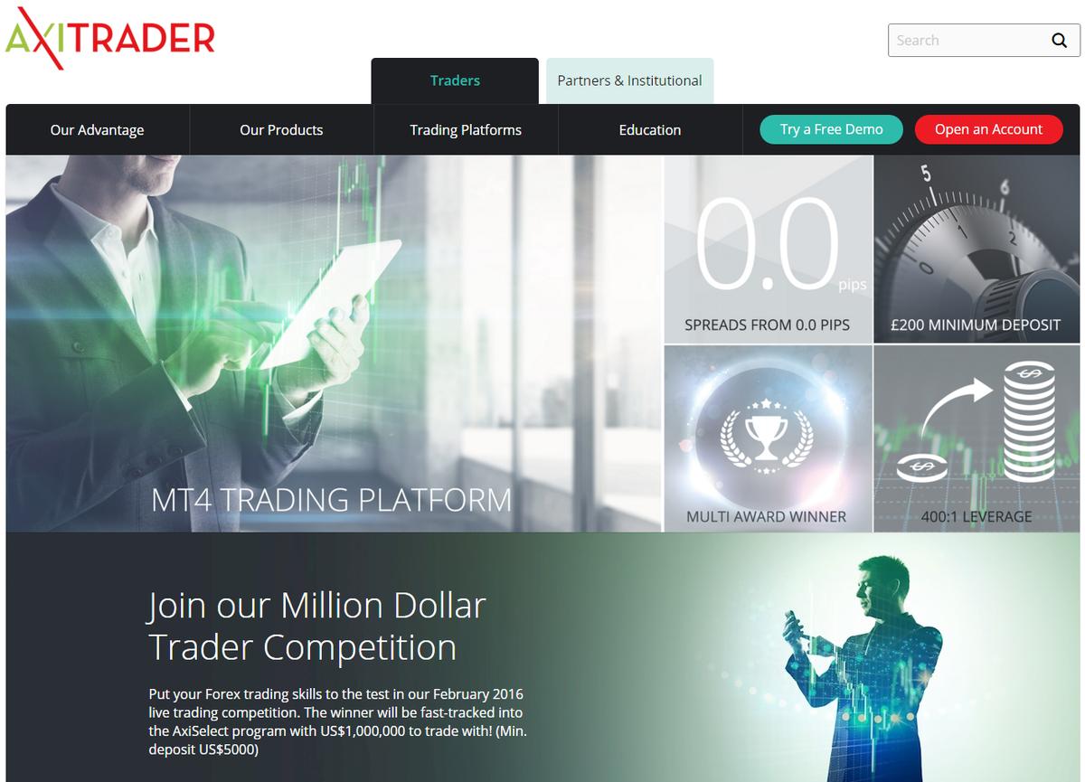 AxiTrader South Africa | $50, AxiTrader Demo Account