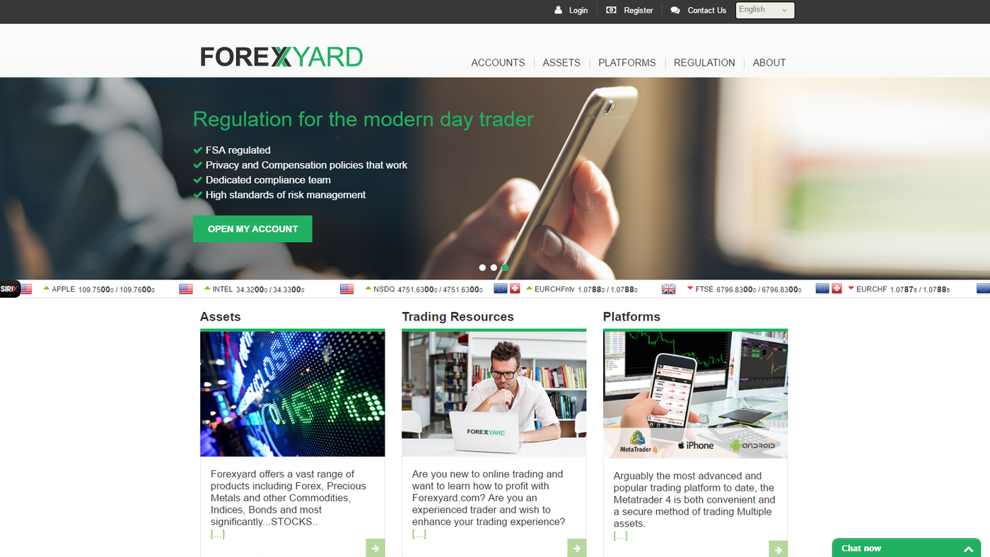 ForexYard review