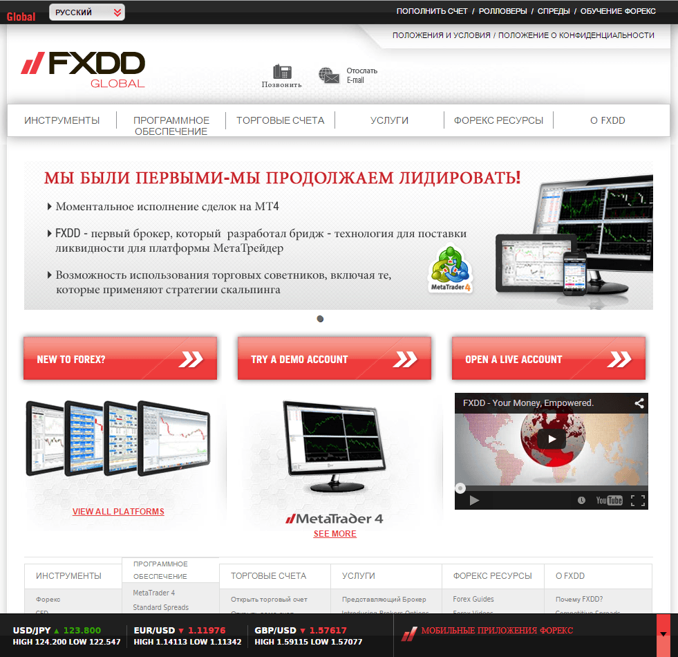 Binary options fxdd