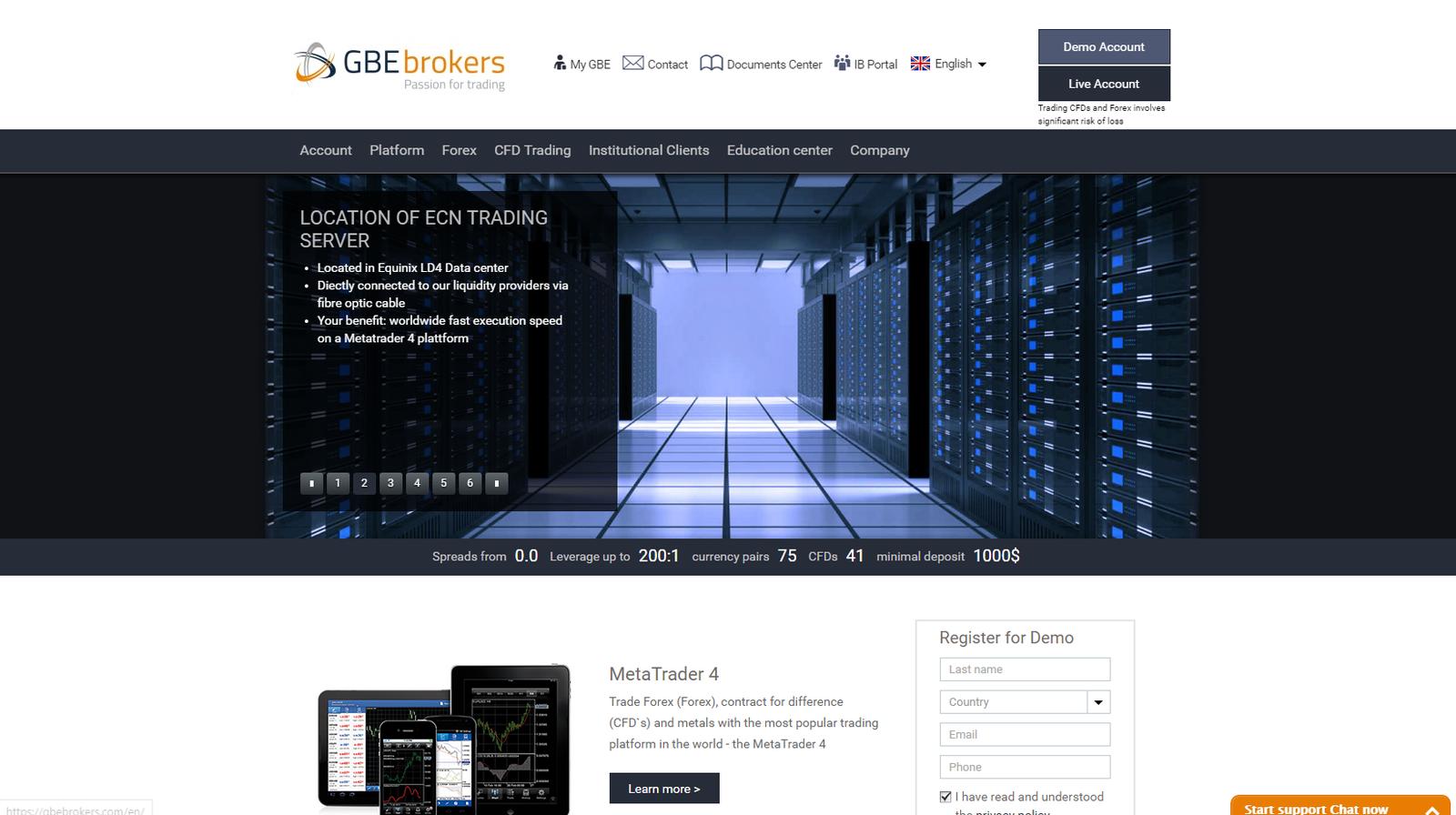 GBE Brokers Reseña