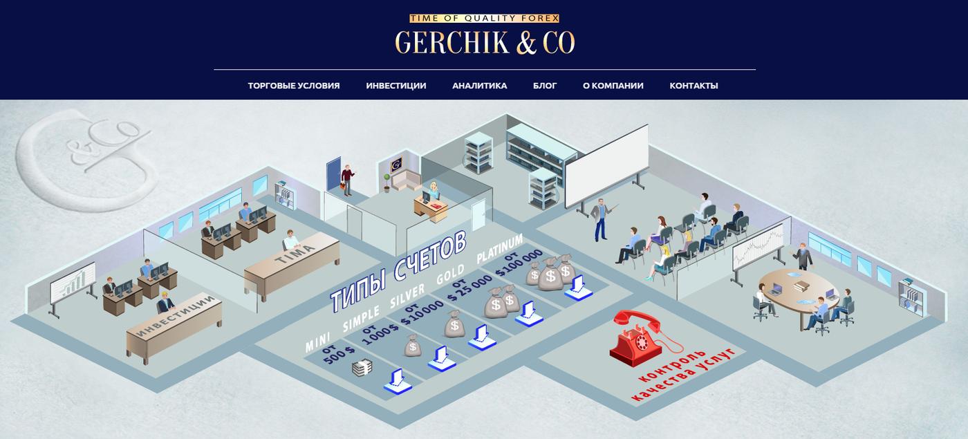 Gerchik & Co отзывы