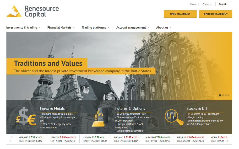 Renesource Capital review