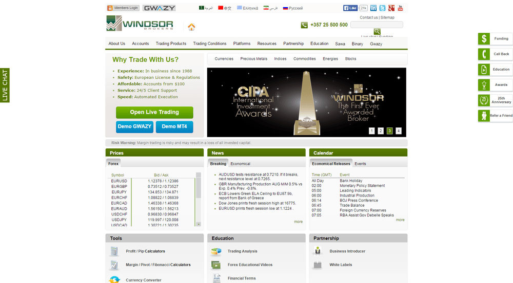 Windsor forex review